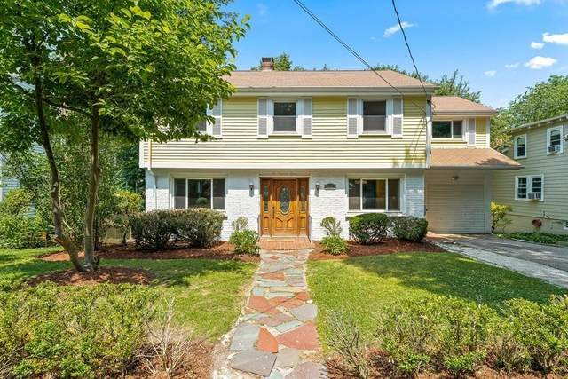 207 Wolcott Road, Brookline, MA 02467 (MLS #72680119) :: The Gillach Group