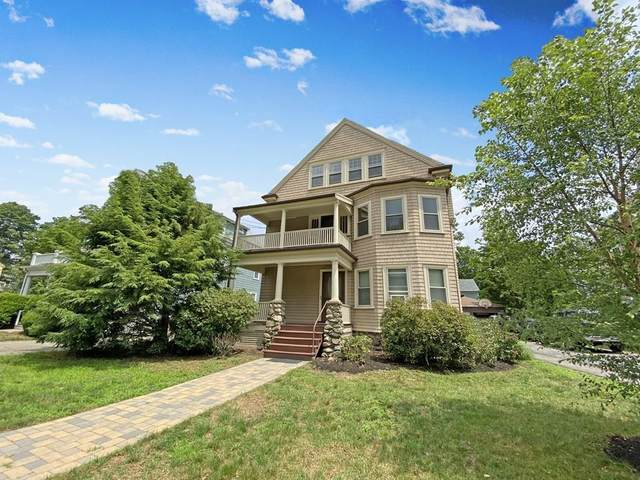 44 Harvard Street, Newton, MA 02460 (MLS #72688719) :: The Seyboth Team
