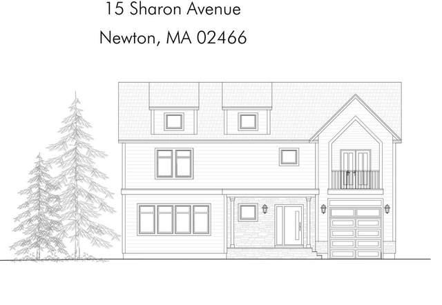 15 Sharon Ave #15, Newton, MA 02466 (MLS #72724489) :: Team Tringali