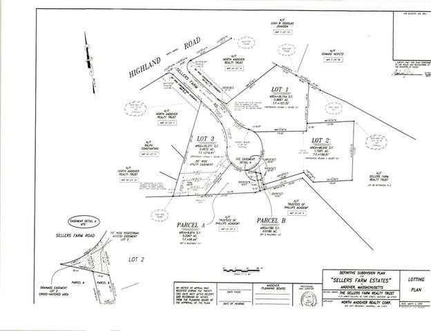 Lots 3,4,6 Sellers Farm Road, Andover, MA 01810 (MLS #72803350) :: Trust Realty One