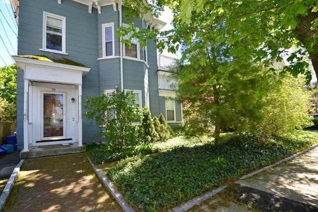 25 Teel Street #1, Arlington, MA 02474 (MLS #72828151) :: Spectrum Real Estate Consultants
