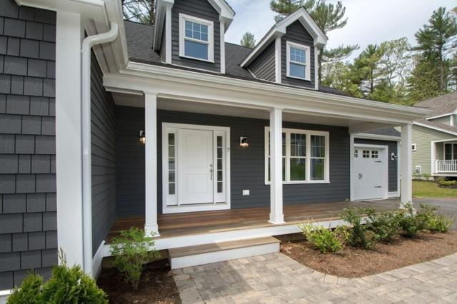 Lot 1 Hillcrest Circle(130Tiffanyrd) #7, Norwell, MA 02061 (MLS #72332987) :: ALANTE Real Estate
