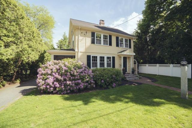 8 Rowland Ave, Lexington, MA 02421 (MLS #72516954) :: Kinlin Grover Real Estate