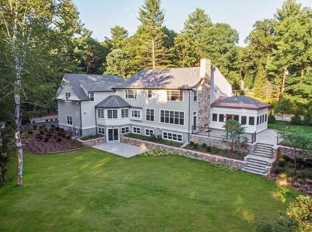 16 Ridge Hill Farm Rd, Wellesley, MA 02482 (MLS #72600449) :: Welchman Real Estate Group
