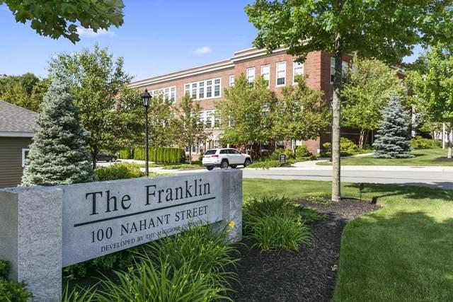 100 Nahant St #330, Wakefield, MA 01880 (MLS #72670923) :: Maloney Properties Real Estate Brokerage