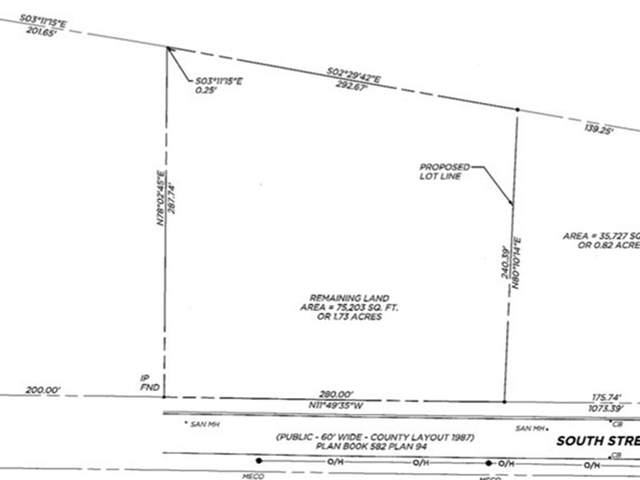 Lot 89 South St., Warren, MA 01092 (MLS #72820319) :: Dot Collection at Access