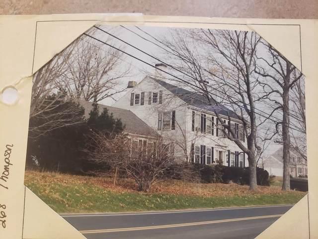 268 Thompson Street, Halifax, MA 02338 (MLS #72836127) :: East Group, Engel & Völkers