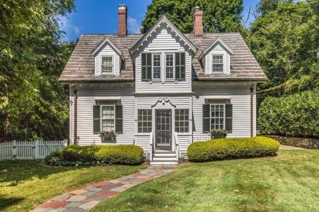 93 Cabot St #93, Newton, MA 02458 (MLS #72389775) :: Apple Country Team of Keller Williams Realty