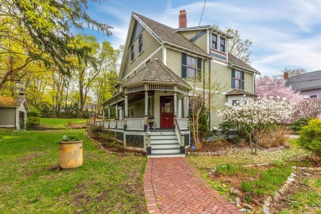 56 Bloomfield Street, Lexington, MA 02421 (MLS #72471150) :: Vanguard Realty