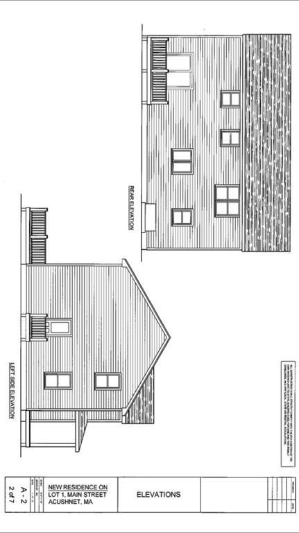 0 ( Lot 1) North Main, Acushnet, MA 02743 (MLS #72216017) :: Anytime Realty