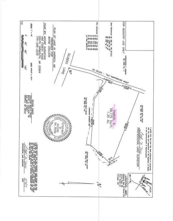 Lot 2 Old Campground Road, Harwich, MA 02646 (MLS #72259082) :: Lauren Holleran & Team