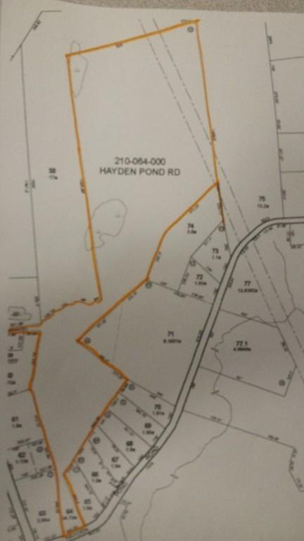 lot 64 Hayden Pond Rd, Dudley, MA 01571 (MLS #72264801) :: Anytime Realty