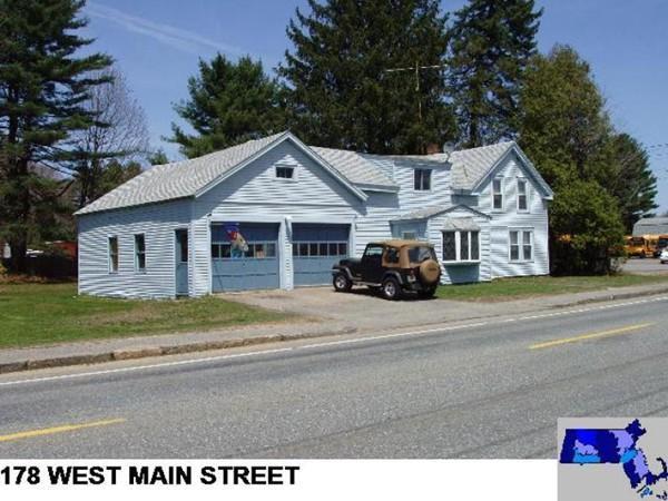 178 W Main St, East Brookfield, MA 01515 (MLS #72272366) :: Keller Williams Realty Showcase Properties