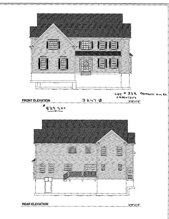 lot 35r Parmenter Hill Rd, Shrewsbury, MA 01545 (MLS #72276734) :: The Muncey Group