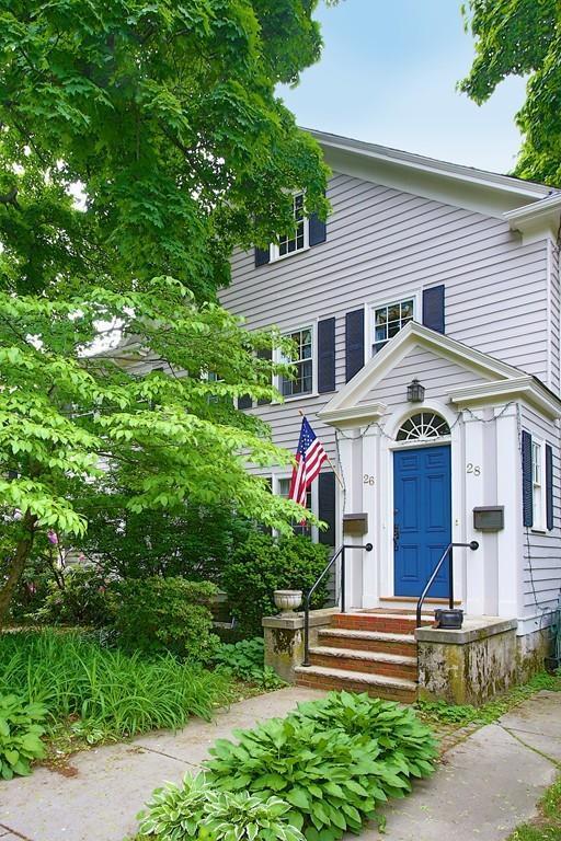 28 George Street #28, Newton, MA 02458 (MLS #72340945) :: Westcott Properties