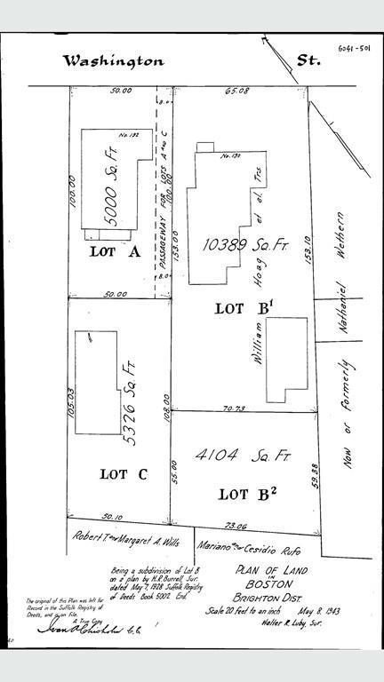 192R Washington Street, Lot B2, Boston, MA 02135 (MLS #72379933) :: Vanguard Realty