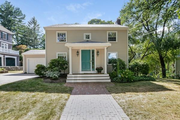 354 Woodland Road, Brookline, MA 02467 (MLS #72390005) :: The Gillach Group