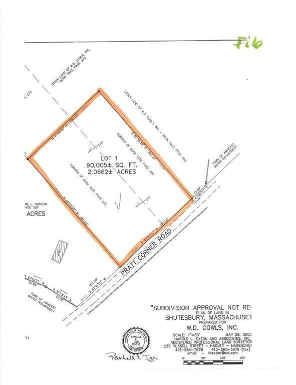 Lot 113 Pratt Corner Rd., Shutesbury, MA 01072 (MLS #72397289) :: Local Property Shop