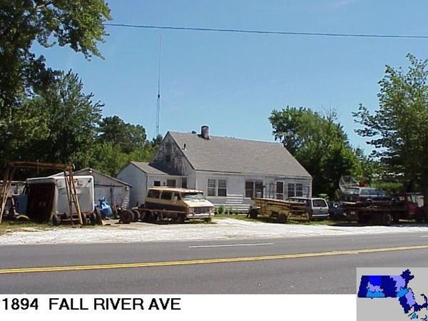 1894 Fall River Av, Seekonk, MA 02771 (MLS #72422530) :: ALANTE Real Estate