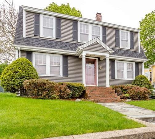 181 Whiting Ave., Dedham, MA 02026 (MLS #72500513) :: Apple Country Team of Keller Williams Realty