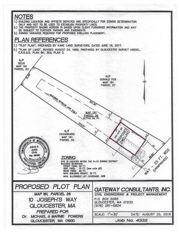 10 Josephs Way, Gloucester, MA 01930 (MLS #72503818) :: The Muncey Group