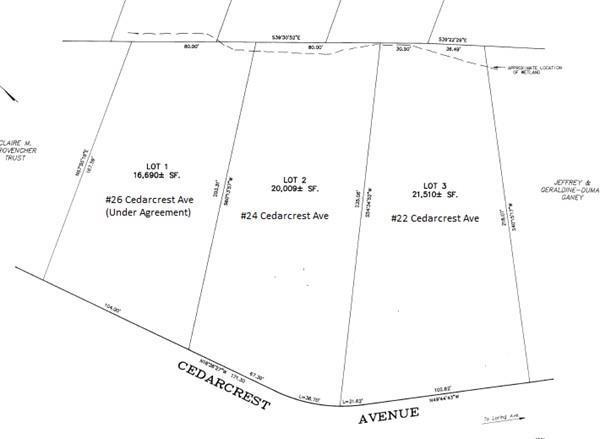 Lot 22 Cedarcrest Ave, Salem, MA 01970 (MLS #72506418) :: Exit Realty
