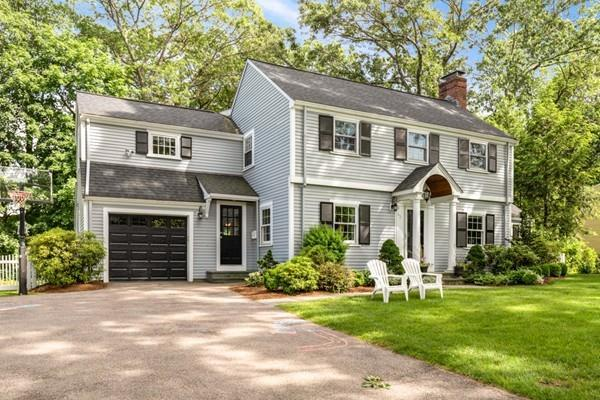 43 River Glen Road, Wellesley, MA 02481 (MLS #72517594) :: The Gillach Group