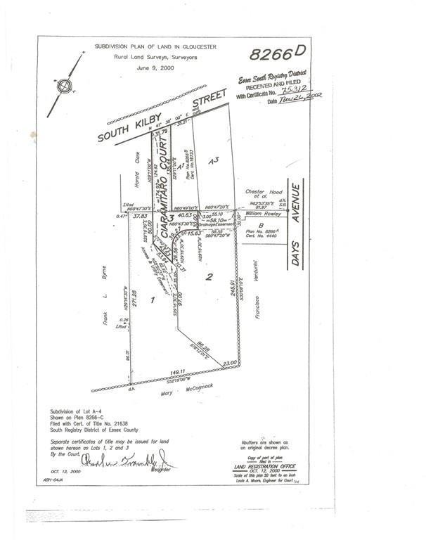 5 Ciaramitaro Ct, Gloucester, MA 01930 (MLS #72529924) :: Spectrum Real Estate Consultants