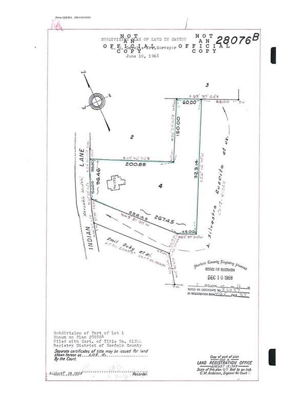 Lot 1 Chief Ln, Canton, MA 02021 (MLS #72533345) :: Apple Country Team of Keller Williams Realty