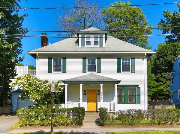 216 Lowell Ave., Newton, MA 02460 (MLS #72558536) :: Exit Realty