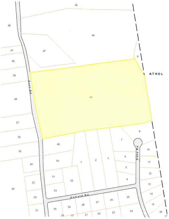 Lot 1 East Road, Orange, MA 01364 (MLS #72559328) :: Driggin Realty Group