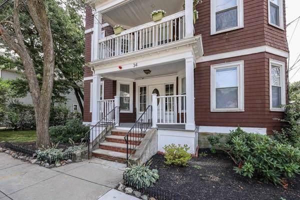 34 Catherine Street #4, Boston, MA 02131 (MLS #72563393) :: Compass