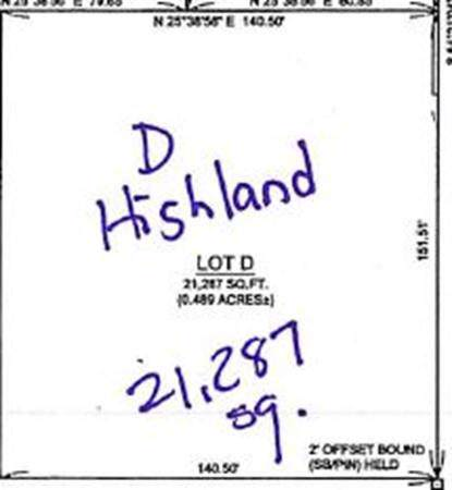 Lot D Highland Ave, Fall River, MA 02720 (MLS #72571748) :: Team Roso-RE/MAX Vantage