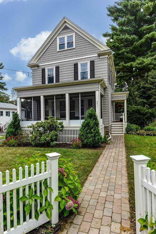 271 Warren, Needham, MA 02492 (MLS #72574380) :: The Gillach Group