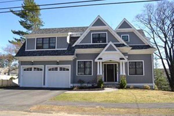 33 Maugus Hill Road, Wellesley, MA 02481 (MLS #72575585) :: The Gillach Group