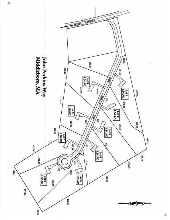 Lot 5 John Perkins Way, Middleboro, MA 02346 (MLS #72576697) :: Kinlin Grover Real Estate
