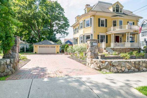 118 Bellevue Ave, Melrose, MA 02176 (MLS #72594746) :: Berkshire Hathaway HomeServices Warren Residential