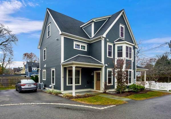 34 Pleasant Street #34, Needham, MA 02492 (MLS #72594770) :: Westcott Properties