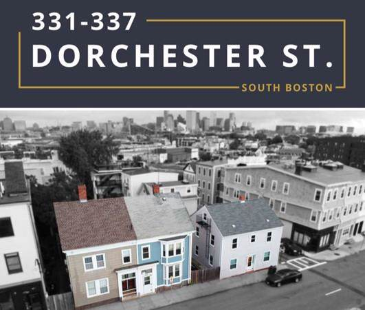 331-337 Dorchester, Boston, MA 02127 (MLS #72598905) :: Charlesgate Realty Group