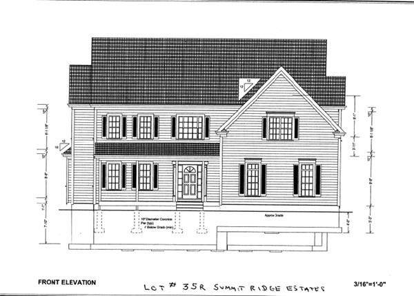 Lot 35R Summit Ridge Estates, Shrewsbury, MA 01545 (MLS #72618872) :: The Duffy Home Selling Team