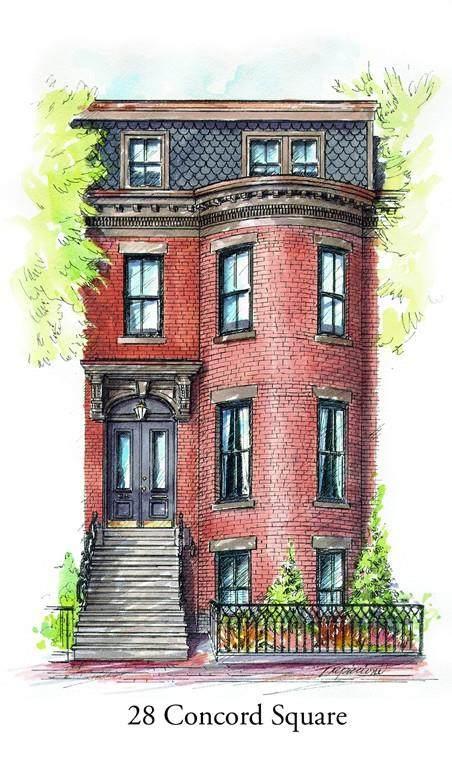 28 Concord Sq #2, Boston, MA 02118 (MLS #72619176) :: The Gillach Group