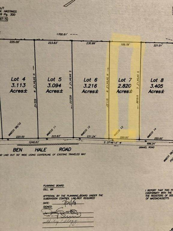 lot 7 Ben Hale Road, Gill, MA 01376 (MLS #72623633) :: Trust Realty One
