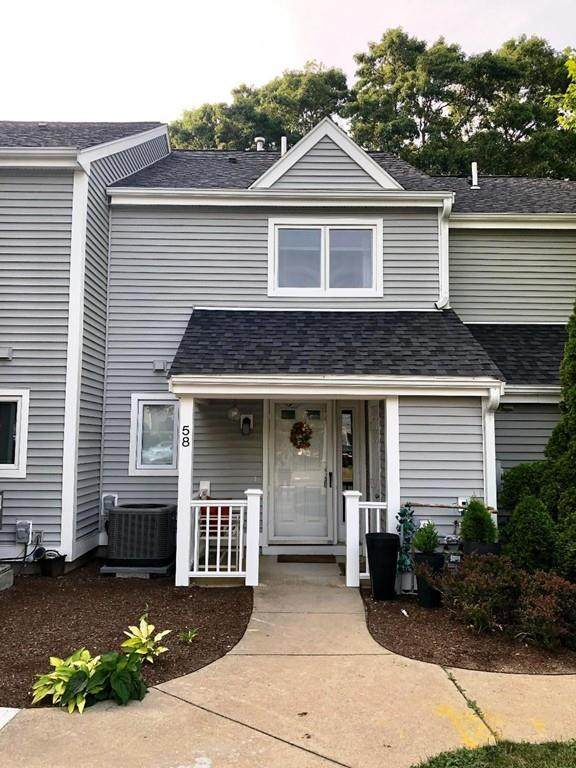58 Westcliff Dr #58, Plymouth, MA 02360 (MLS #72624643) :: The Gillach Group