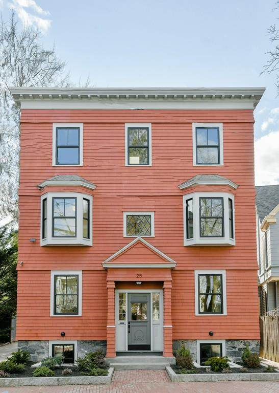 25 Carver Street #2, Cambridge, MA 02138 (MLS #72627883) :: The Gillach Group