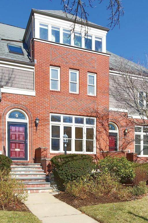 5 Erie Ave #4, Newton, MA 02461 (MLS #72631598) :: Trust Realty One