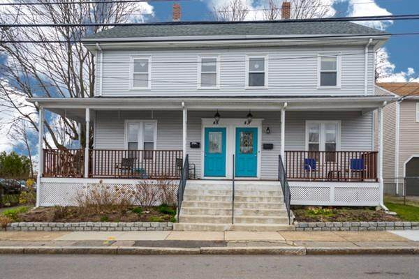 43 West Street #43, Needham, MA 02494 (MLS #72638459) :: The Gillach Group