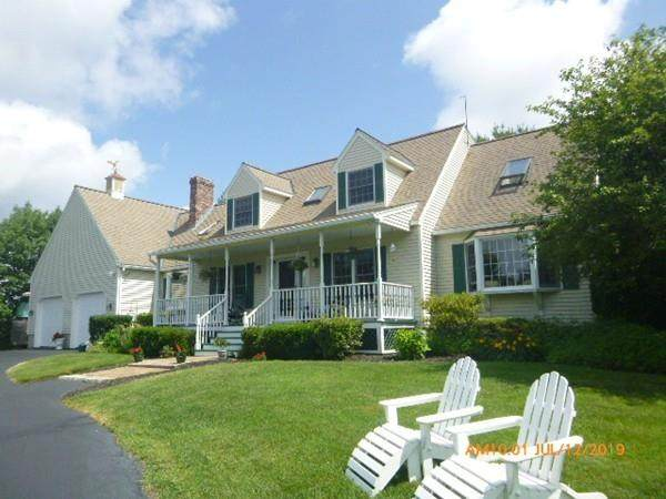 830 Pleasant St, Paxton, MA 01612 (MLS #72640881) :: Anytime Realty