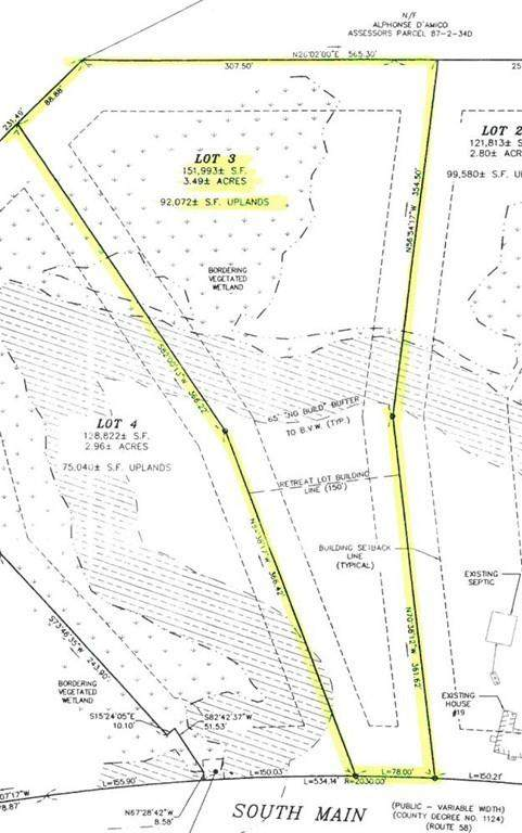 19 South Main St - Lot 3, Carver, MA 02330 (MLS #72657910) :: The Seyboth Team