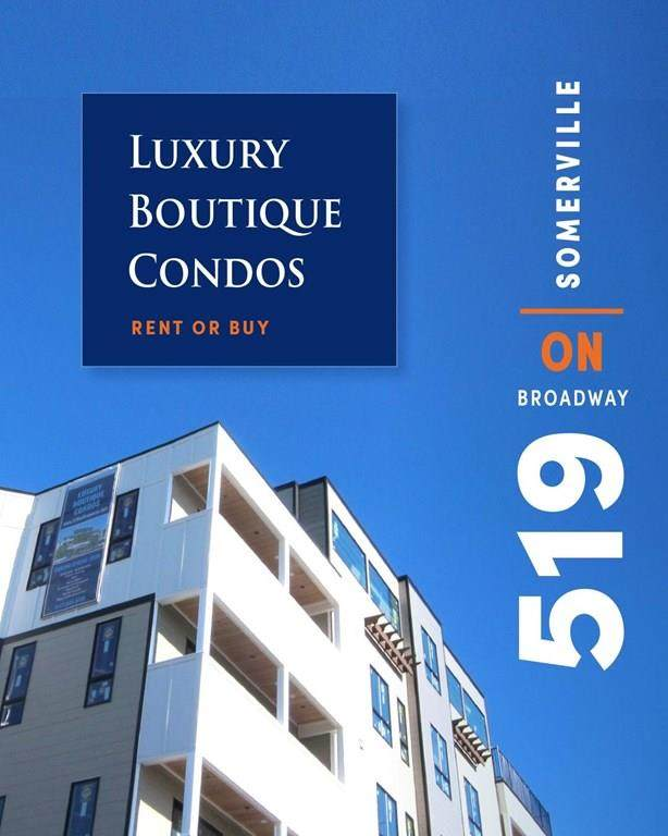 519 Broadway #204, Somerville, MA 02145 (MLS #72706416) :: Conway Cityside