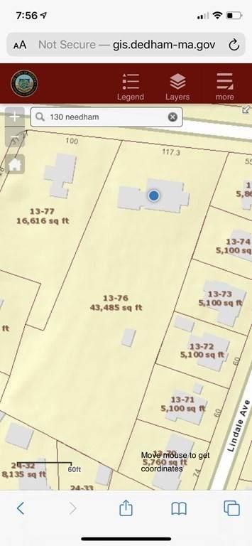 130 Needham St, Dedham, MA 02026 (MLS #72738212) :: Cosmopolitan Real Estate Inc.